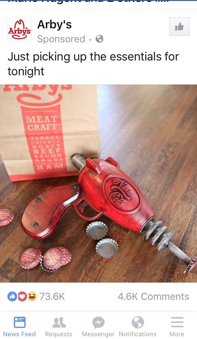 Arby's at it again with awesome advertising - meme