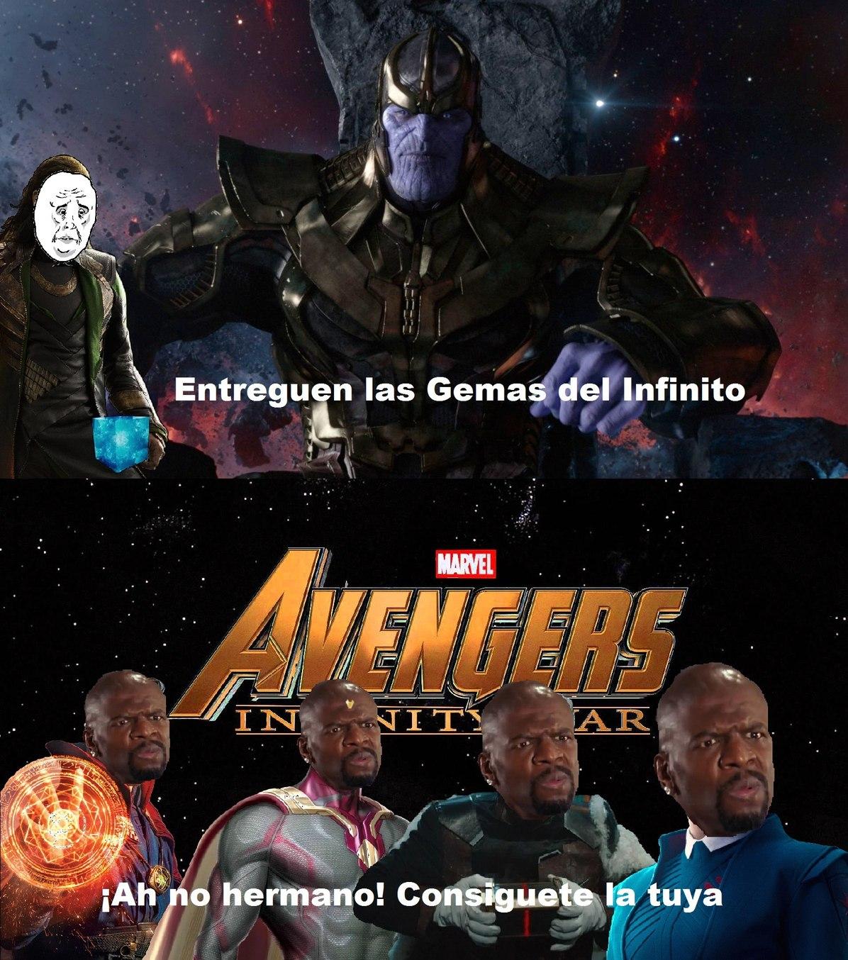 El titulo tiene la 6ta Gema - meme