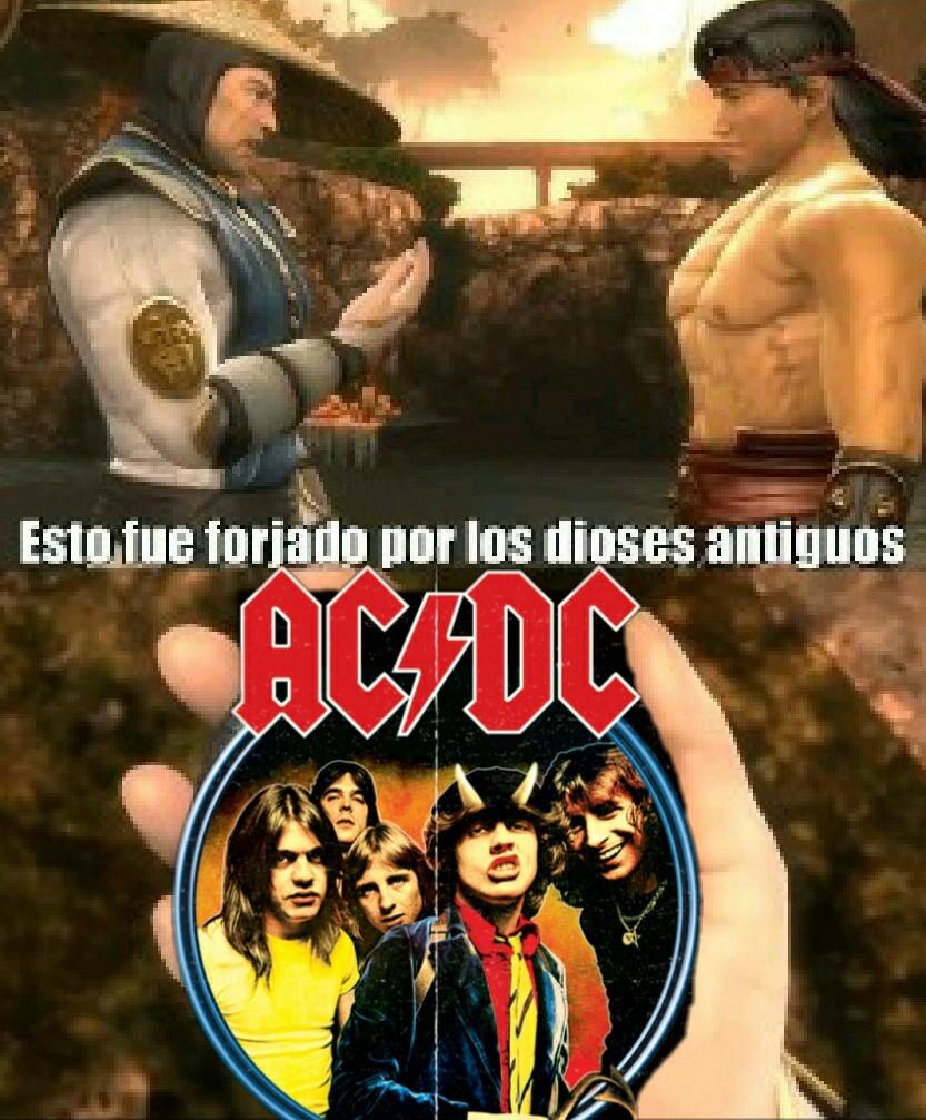 AC DC - meme