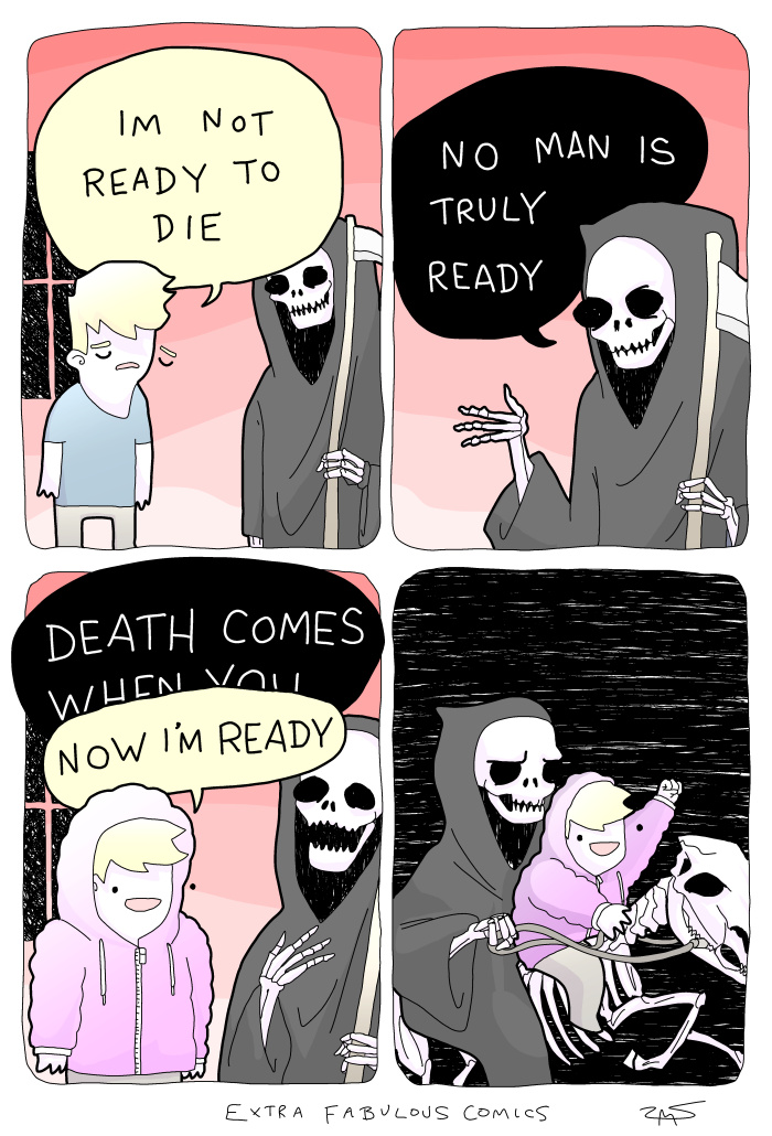 Death cums - meme