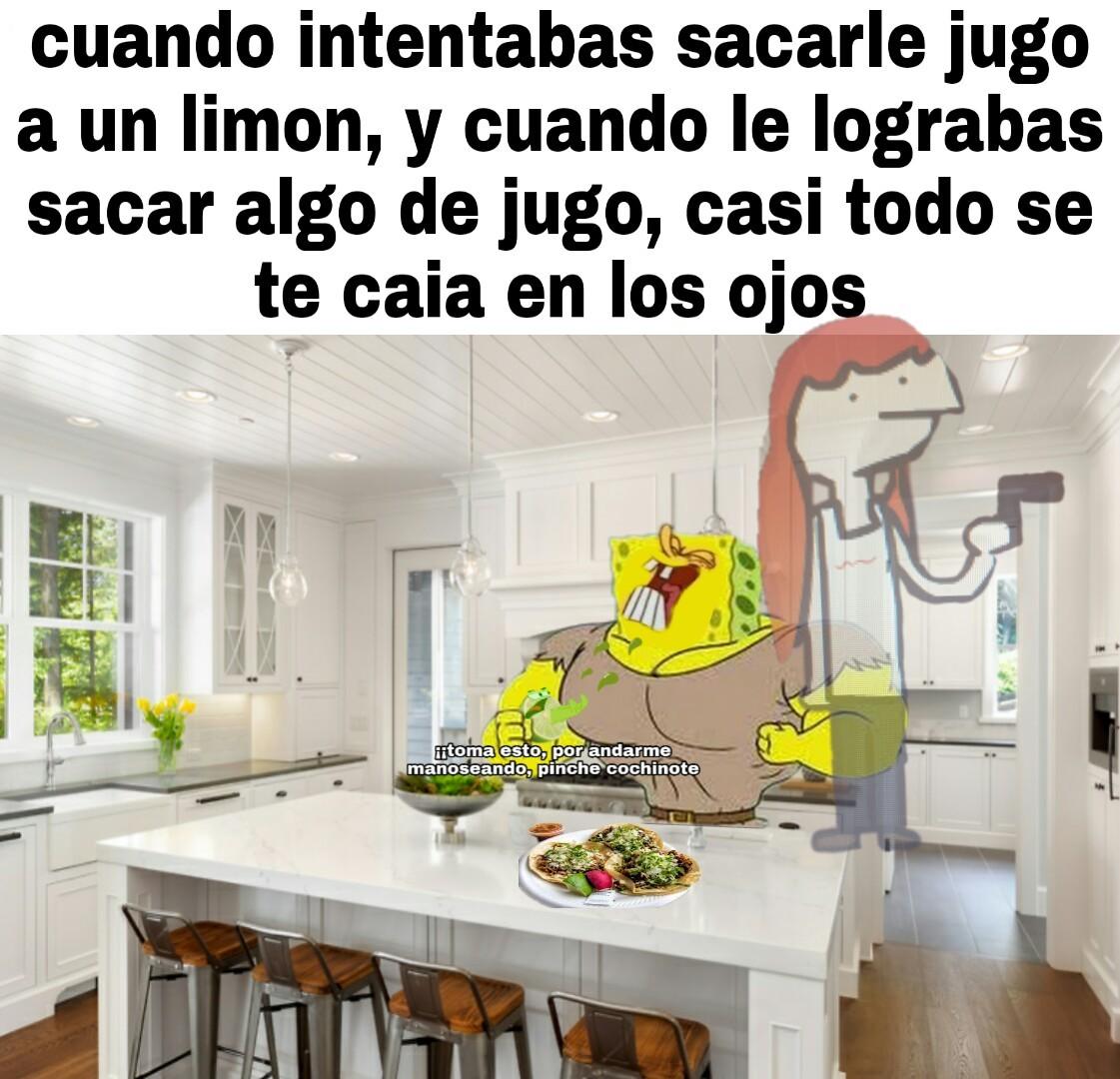Pinche limon, sacate a la verga :D - meme