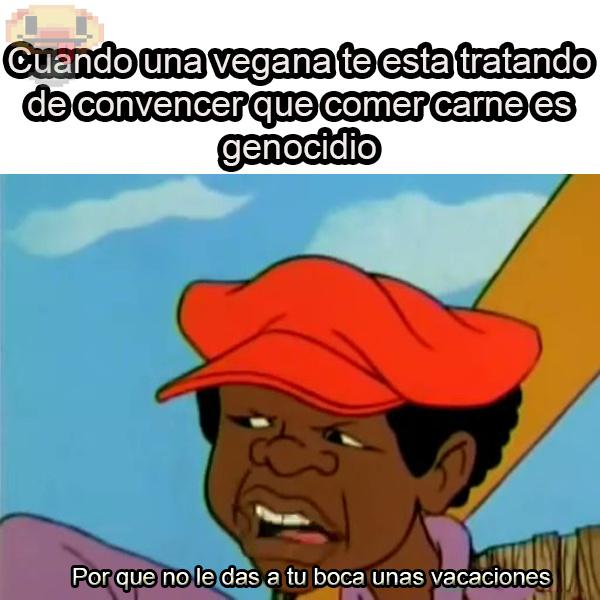 veganas - meme