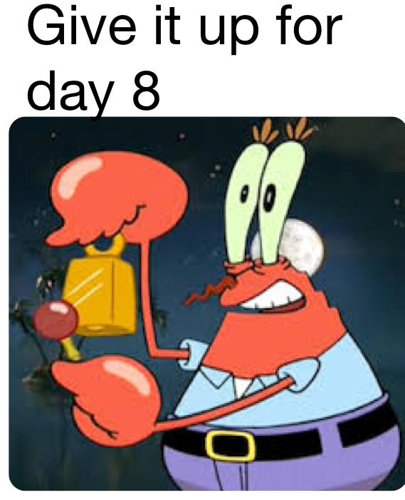 Day 8 - meme