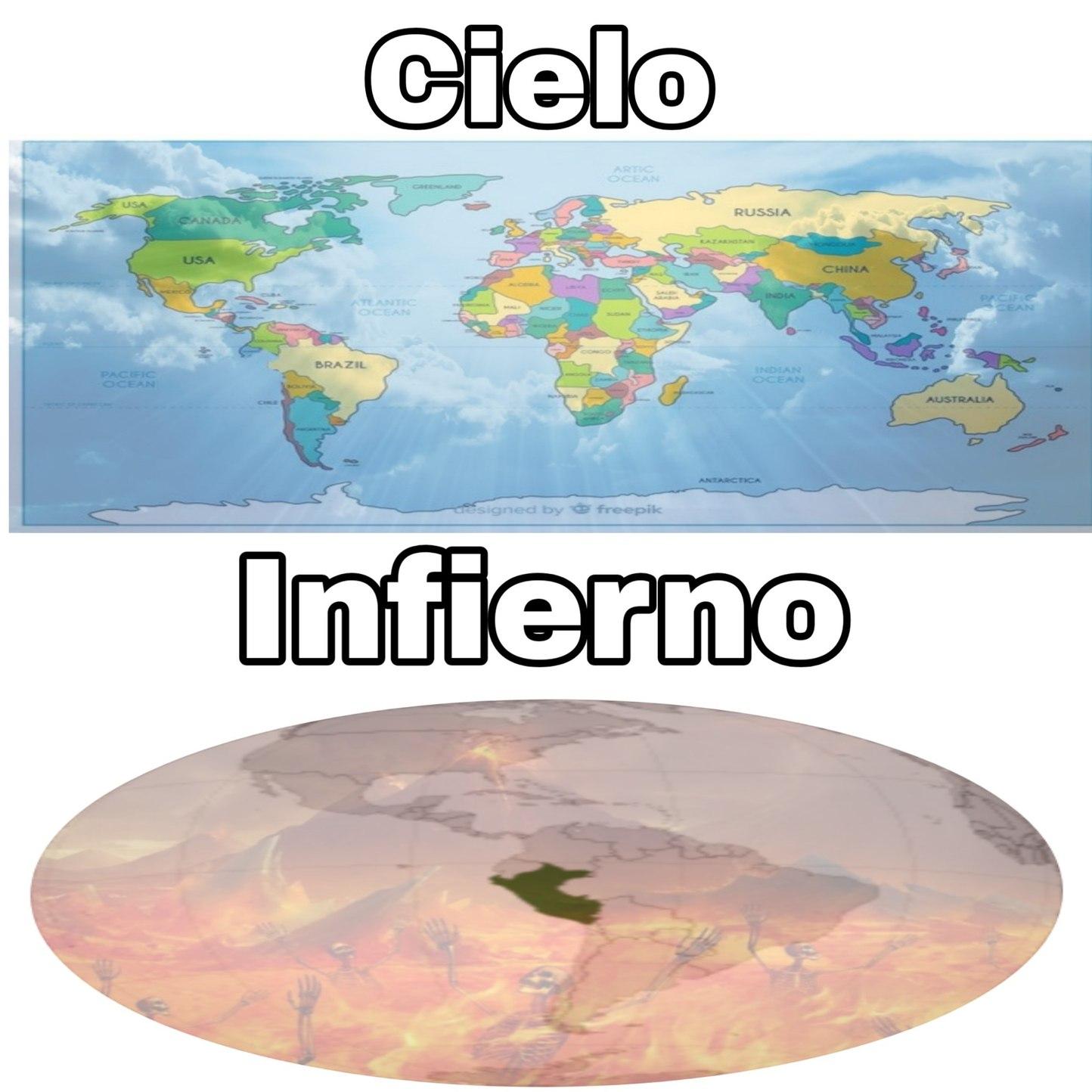 Afortunados en no ser Peruanos - meme