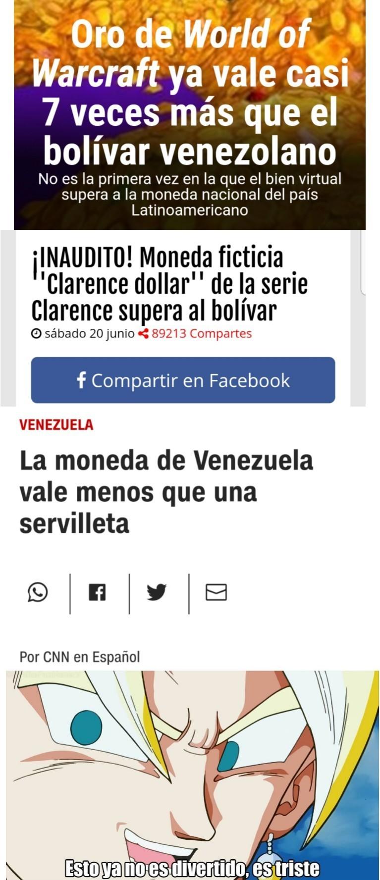 Solo un socialista haria que el país con mayores reservas de petroleo en el mundo fuese pobre - meme