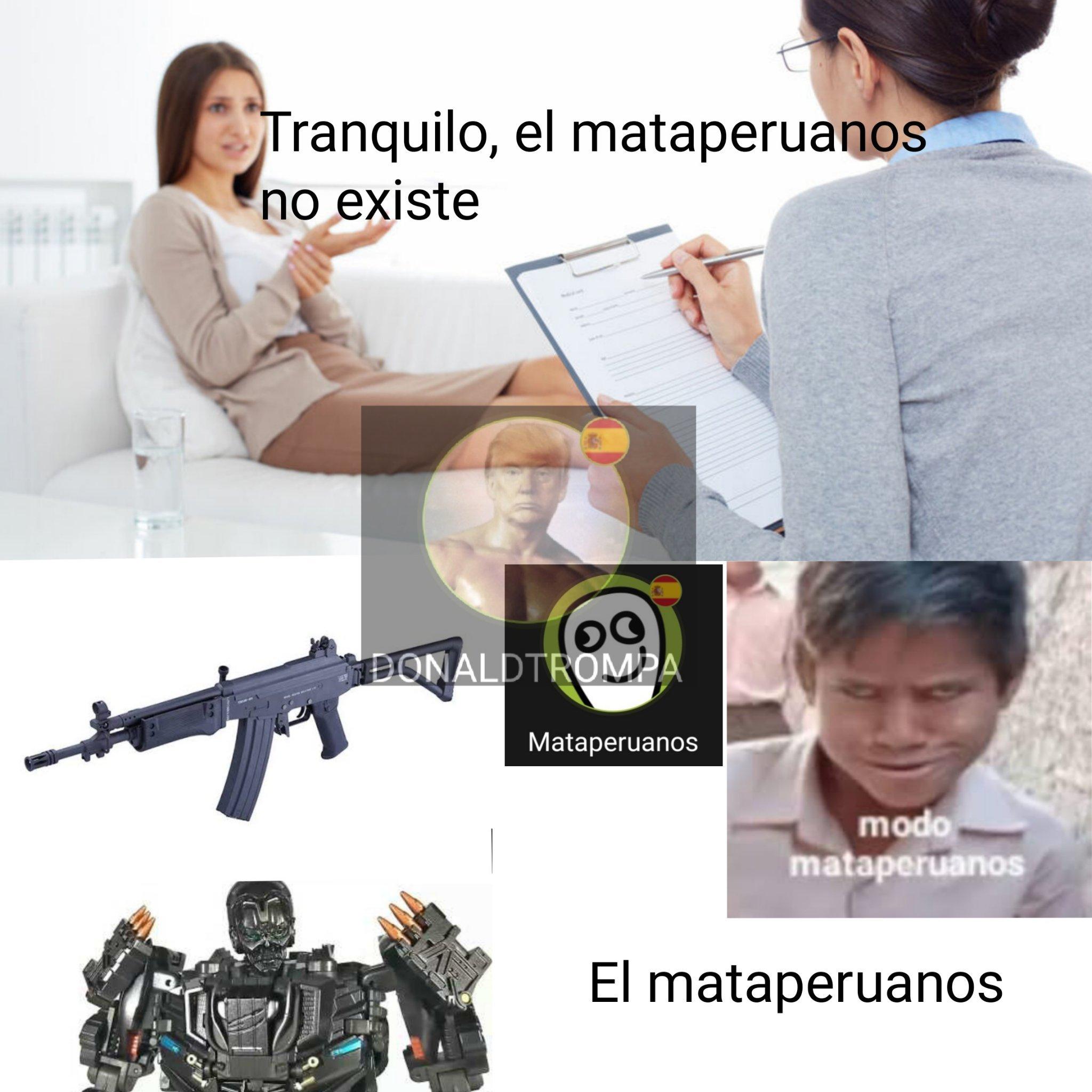 El meme fue a matar peruanos