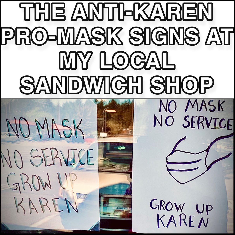 Freakin Karens - meme