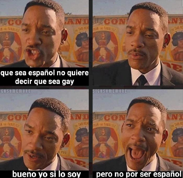 Estereotipo español - meme