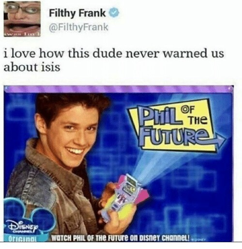 Phil of the future is a fucking asshole