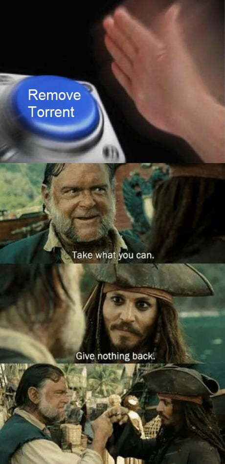 Give nothing back my Pirates NiBBas - meme