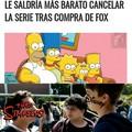 El título quiere comprar Fox y cancelar Los Simpsons