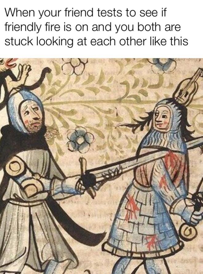 friendly fire - meme