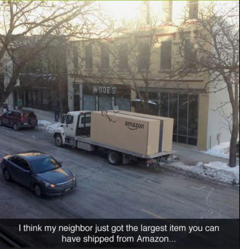 Amazon shipping - meme