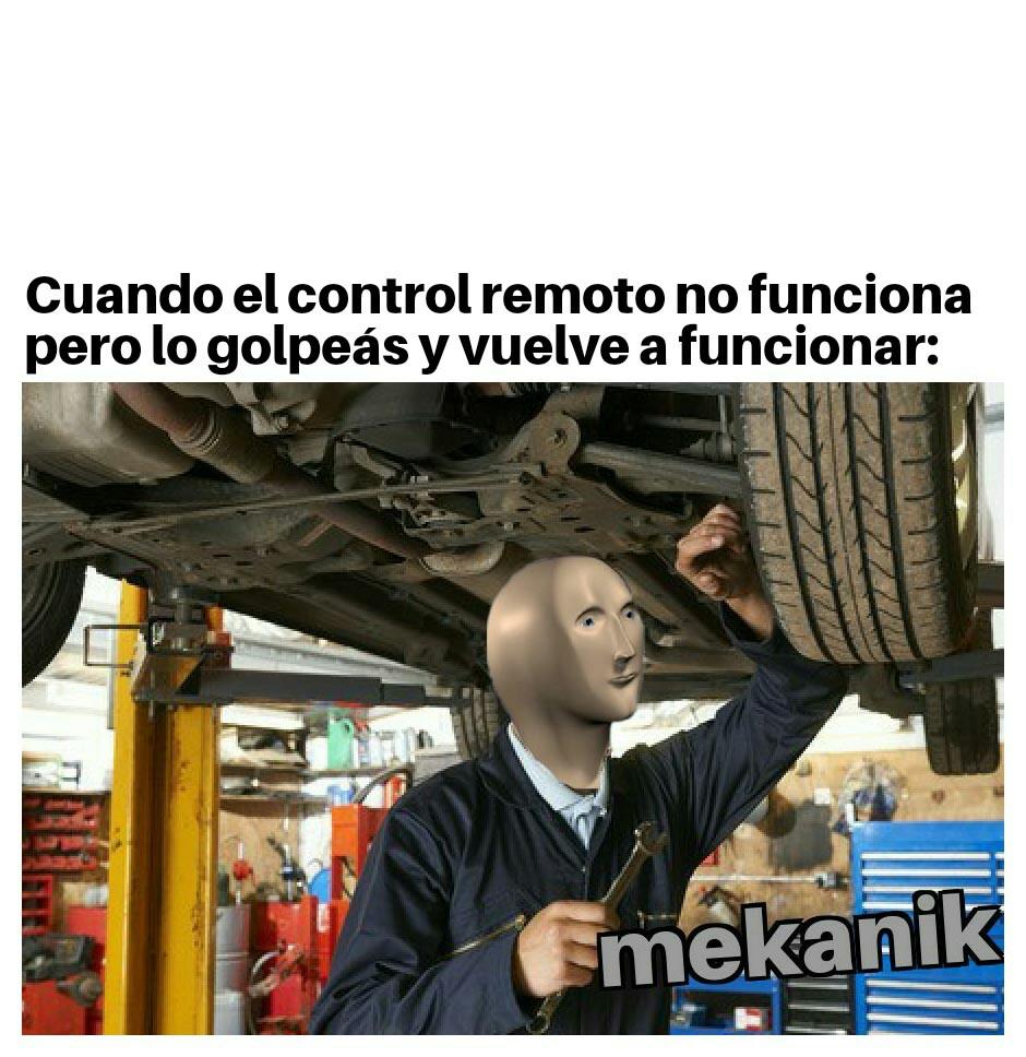 Mekanik - meme