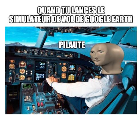 Une merveille ce simulateur - meme