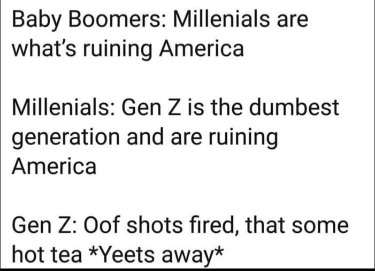 Gen z - meme