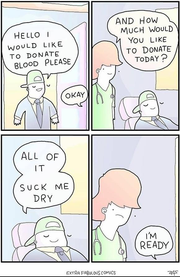 suck my dry - meme