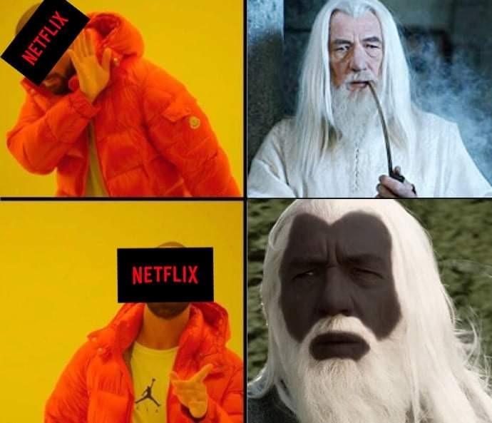 Netflix style - meme