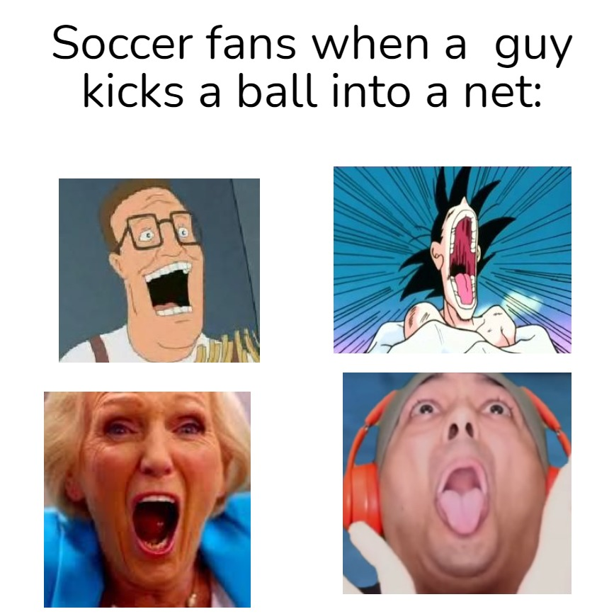 Yeah Yeah Yeah  I know it's called 'football' but I'M AN AMERICAN - meme