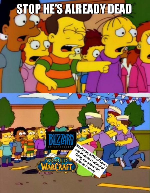 It's the death of fun - meme