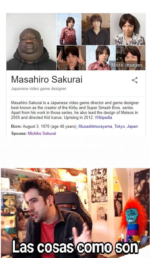 masahiro sakurai - meme