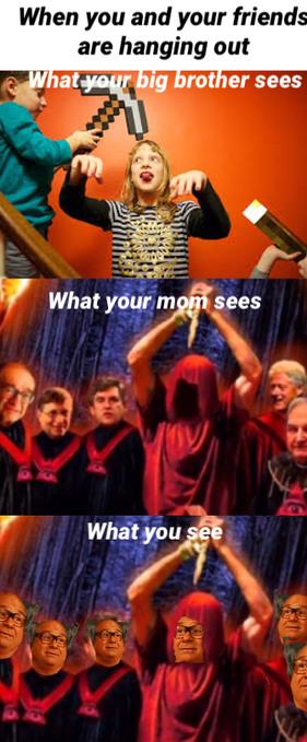 The ritual - meme