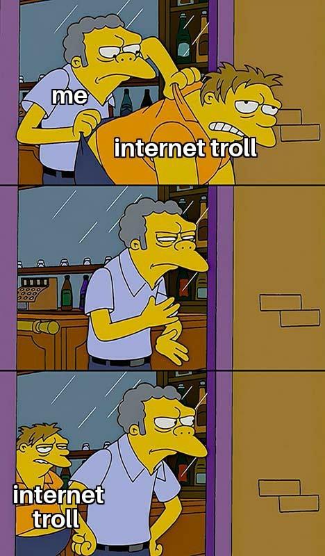 Internet troll - meme
