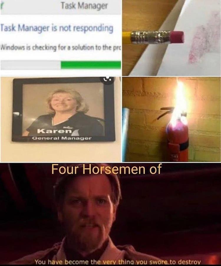 Karen the manager - meme