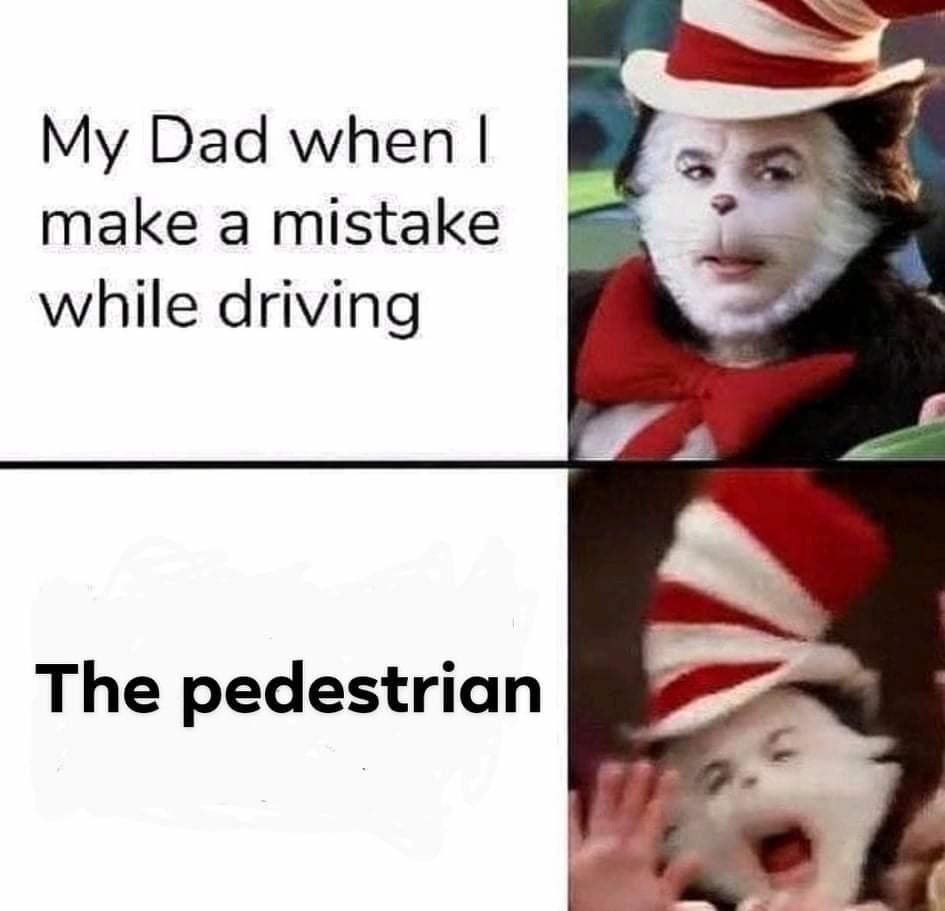 It's just the sidewalk - meme