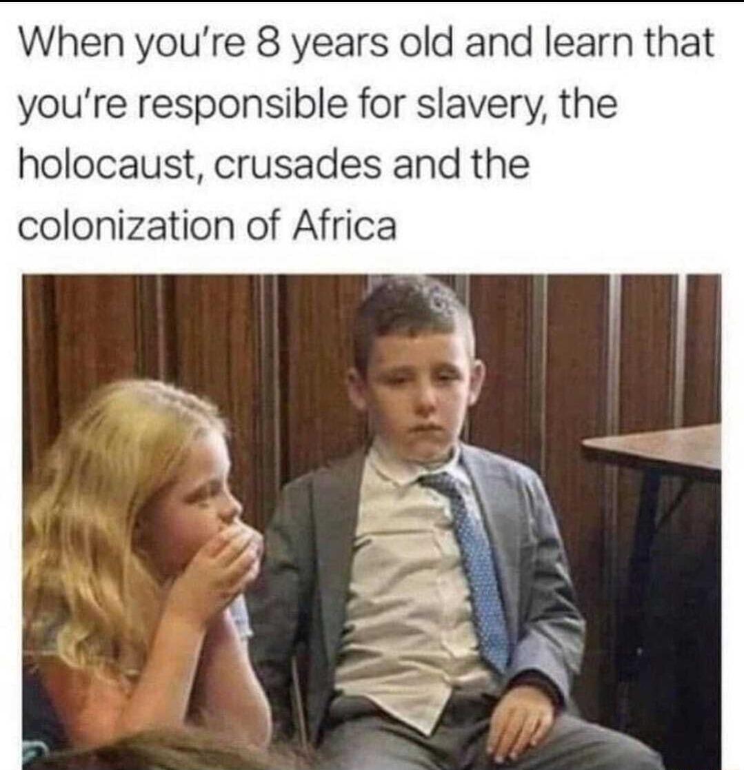 muh Colonization. muh Slavery - meme