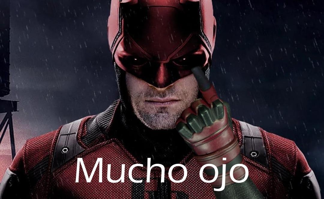 Daredevil be like - meme