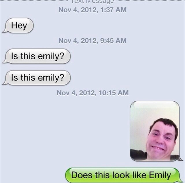 Does this look like Emily bitch - meme