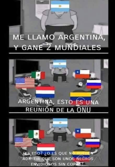 La mayoria se Argentinos - meme