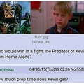 5 hours and he kicks predator's ass
