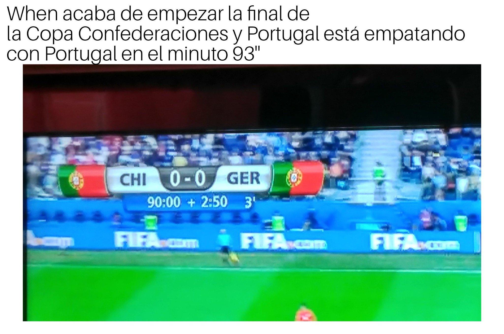Seguro que gana Portugal - meme