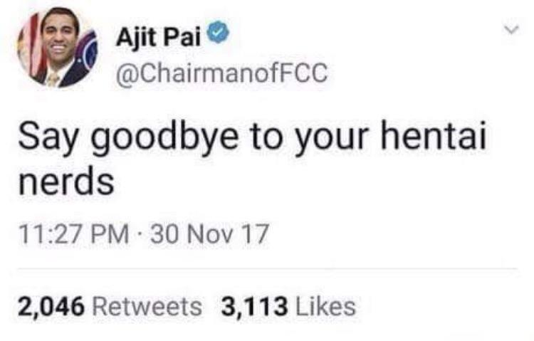 I..support..Ajit Pai... - meme