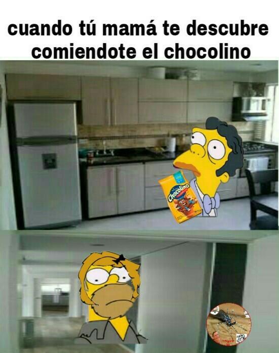 Me encanta comer chocolino - meme