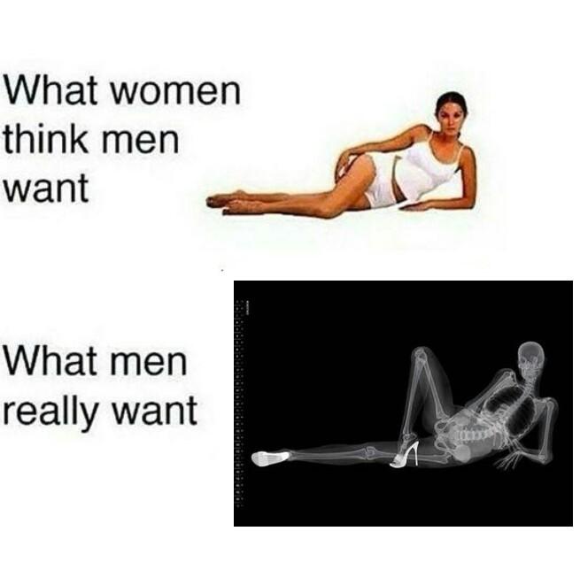 Spooky sexy skeletons - meme
