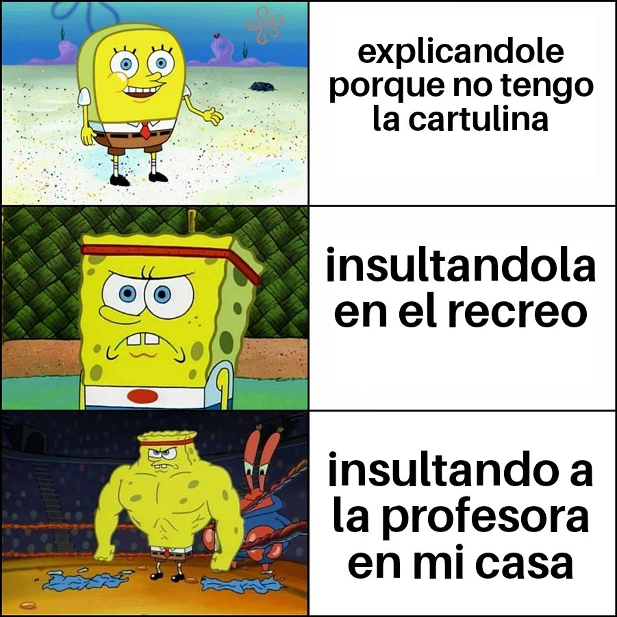 Puta M Carmen y las cartulinas - meme