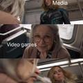 Media vs video games