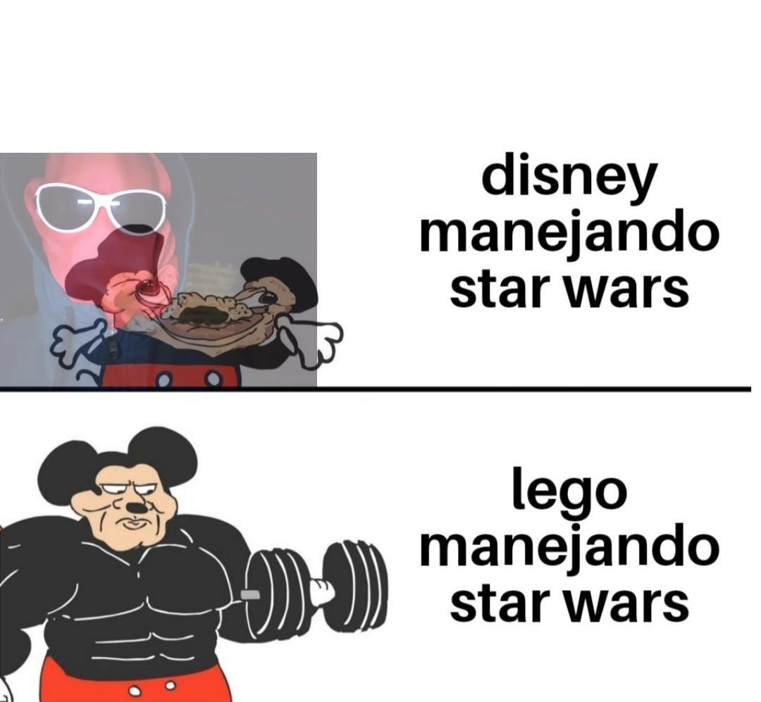 Disney: manejar star wars es complicado,lego : observe - meme