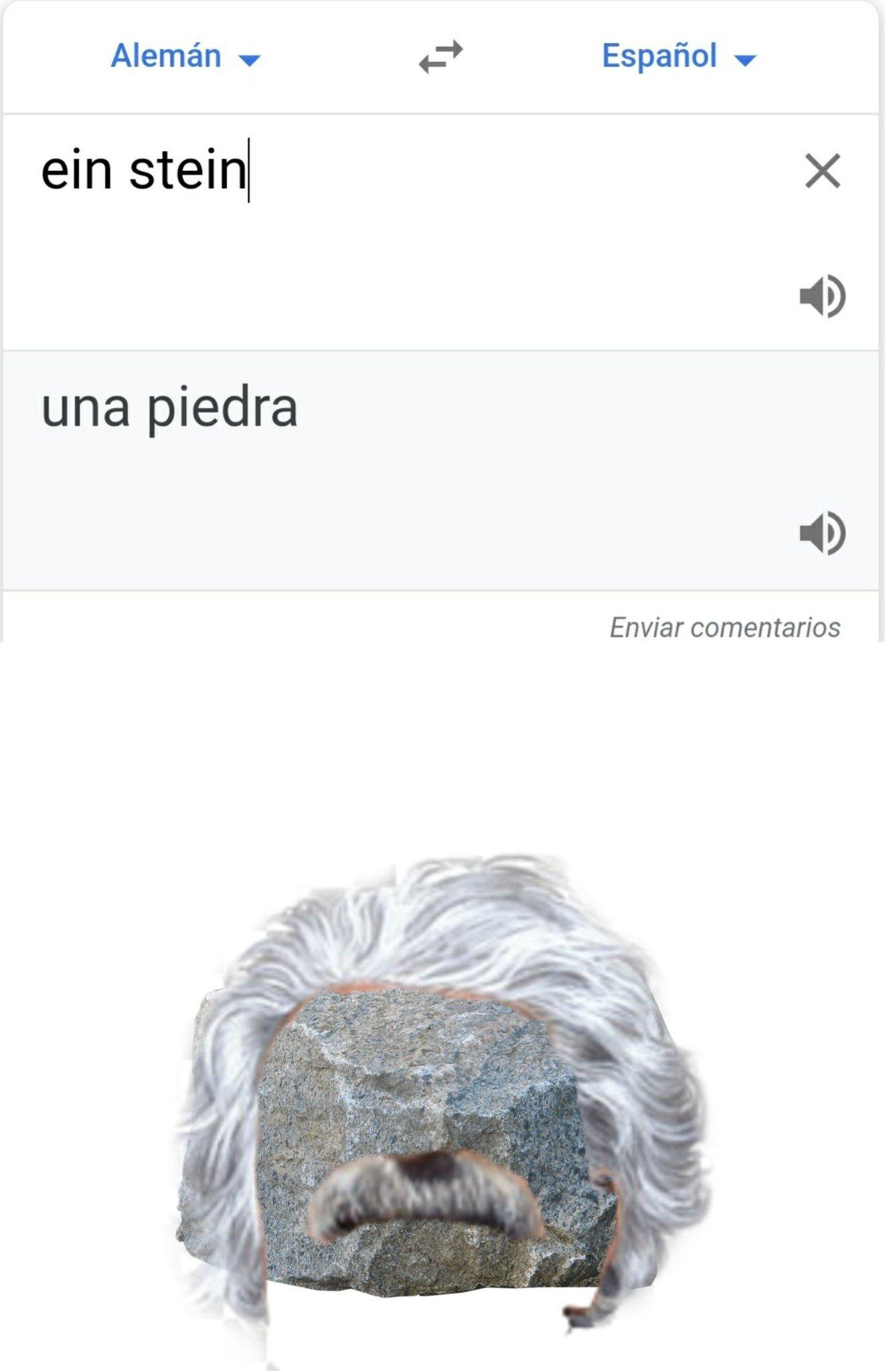 Alberto Unapiedra fue un gran fisico - meme