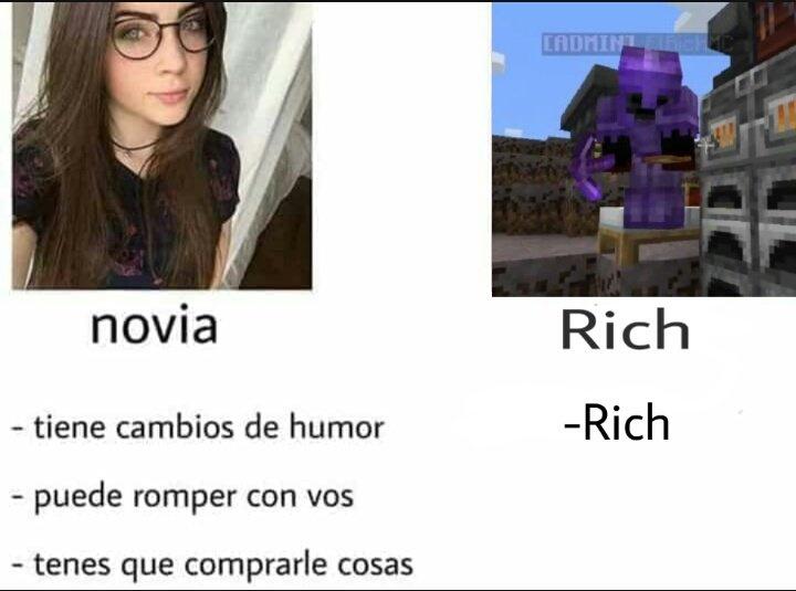 Rich - meme