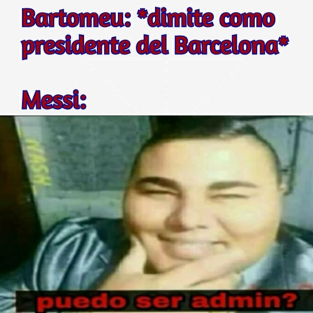 Messi: Mi momento ha llegado - meme