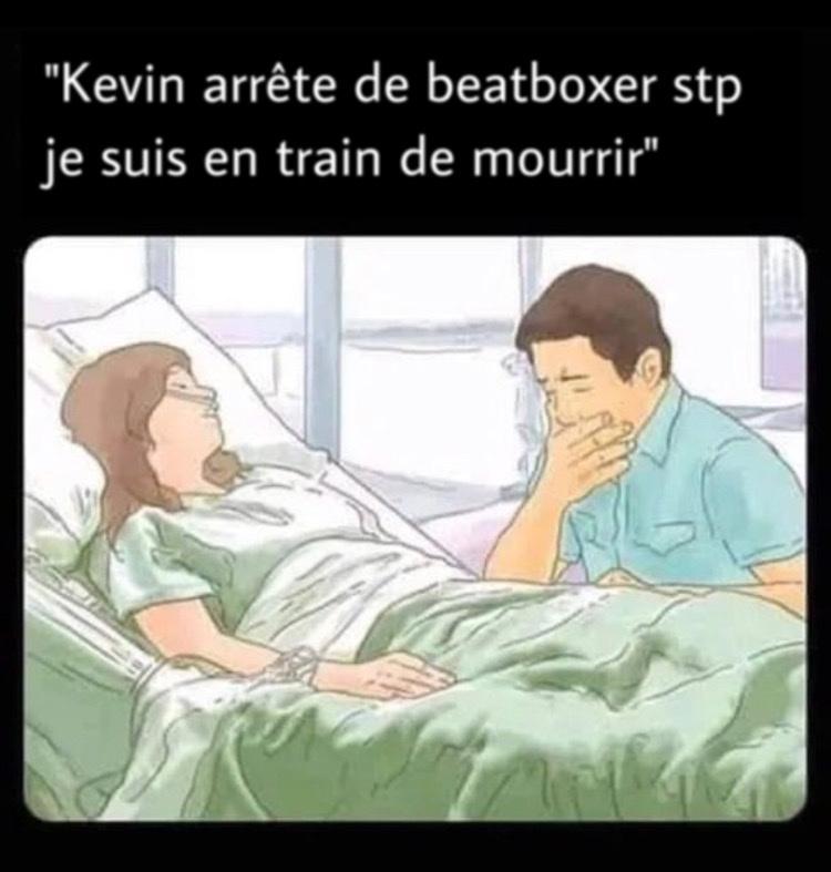 Kevin sois sérieux - meme