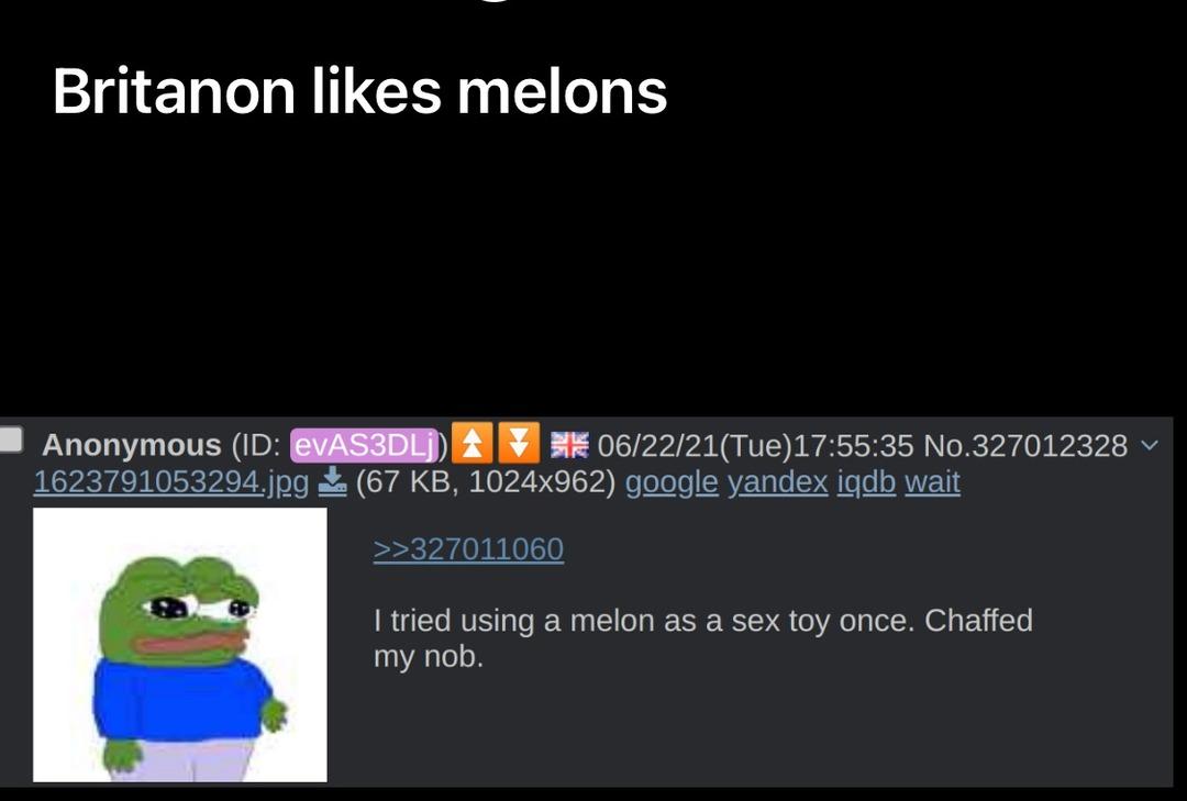 melon fucker - meme