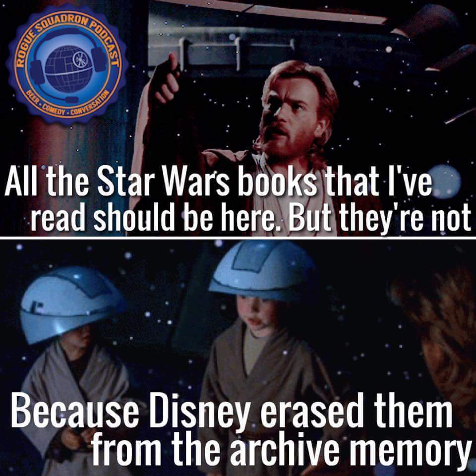 comment your favorite star wars book. Also not mine but I wanted to share it - meme