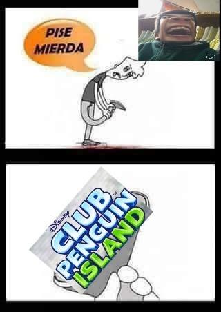 La isla del cp - meme