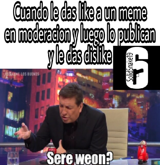 Seré weon - meme