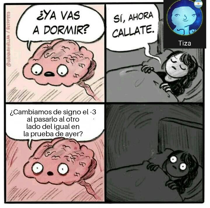 No duermo más... - meme